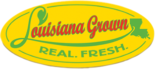 Louisiana Grown. Real. Fresh.